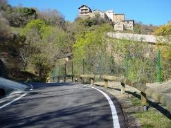 Camí d'accés a Castellviny (Pallars Sobirà)