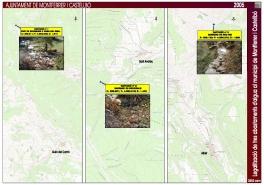 Legalització de tres abastaments d'aigua al municipi de Montferrer i Castellbó (Alt Urgell)