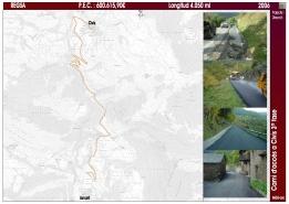 Camí d'accés a Cava i Ansovell. TM Cava