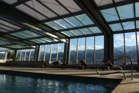 Projecte d'execució d'un element tècnic de tancament practicable de piscina i ampliació de l'Hotel Muntanya